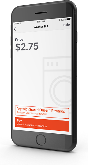 Speed Queen Insights provides the Speed Queen app and Speed Queen Rewards to enhance the customer experience.