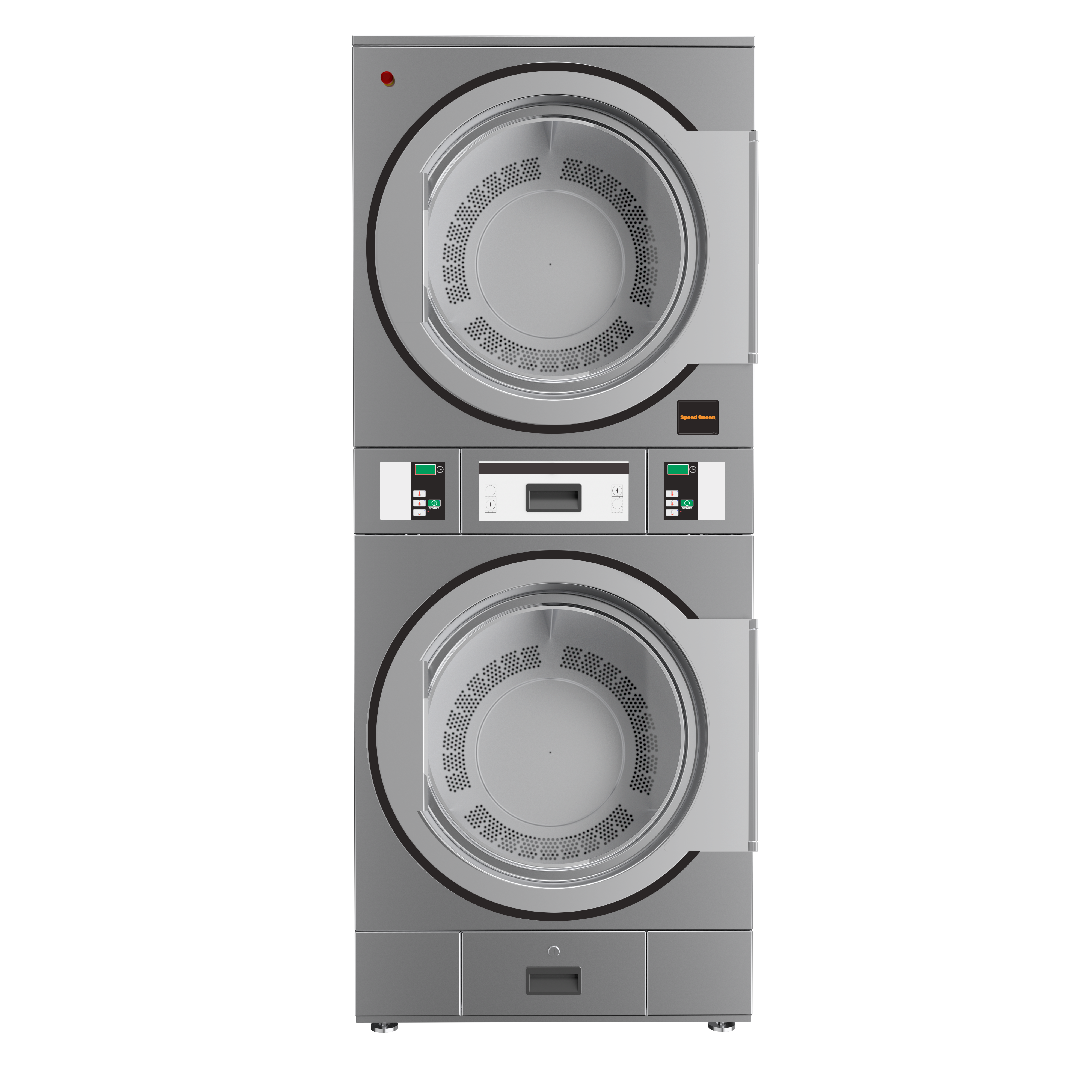 Double Pockets Stack Industrial Dryers: Exclusivity EMEAI