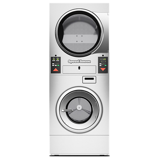 Stacked Washer-Extractor/Tumble Dryers