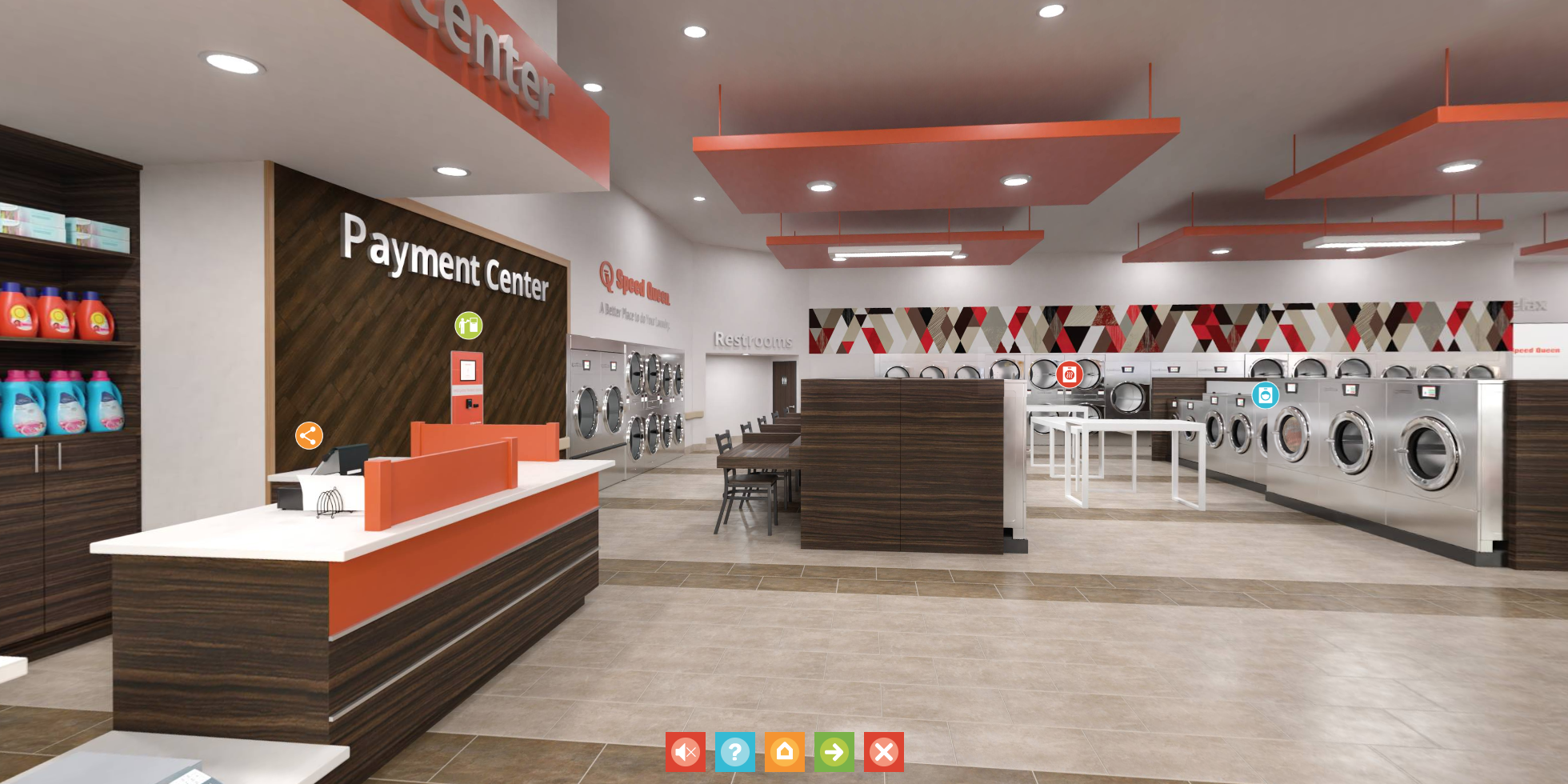 Speed Queen Tool Offers Virtual Tour of Laundromat
