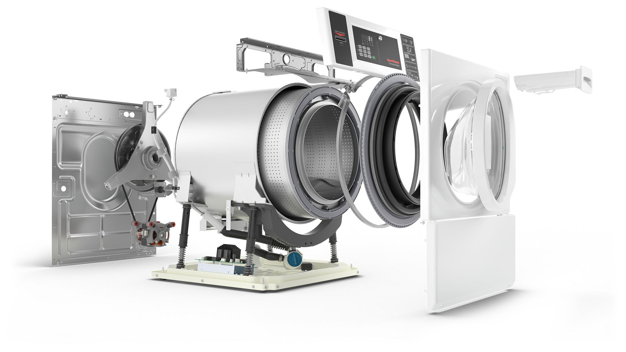 Multi-Housing Laundry Equipment - Speed Queen Commercial