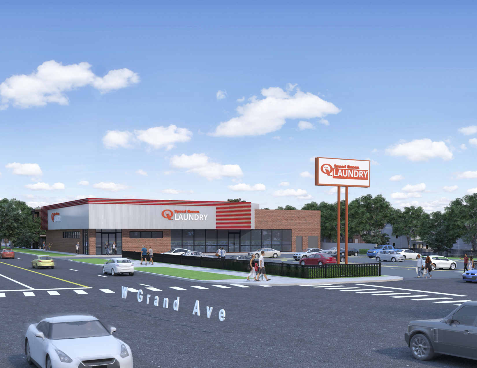 Speed Queen Laundromat Plans Franchise Flagship Store