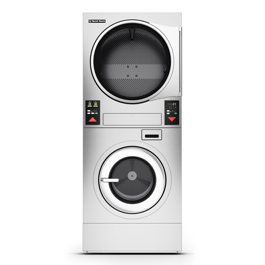On-Premises Stacked Washer Extractor / Tumble Dryer