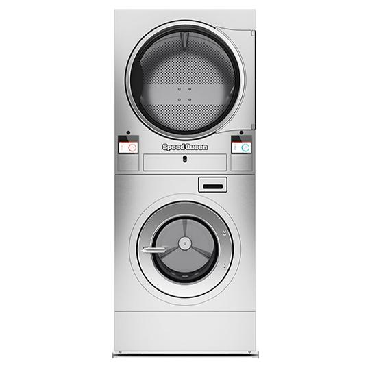 เครื่องซักผ้าและเครื่องอบผ้าแบบกองซ้อน